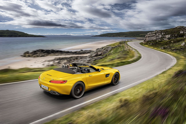 Une version S pour la Mercedes-AMG GT Roadster
