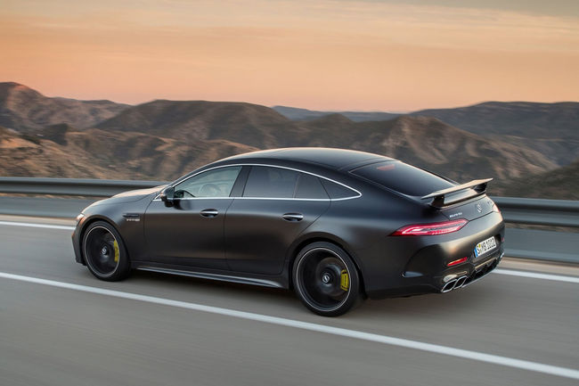 Lancement en production de la Mercedes-AMG GT Coupé 4 portes
