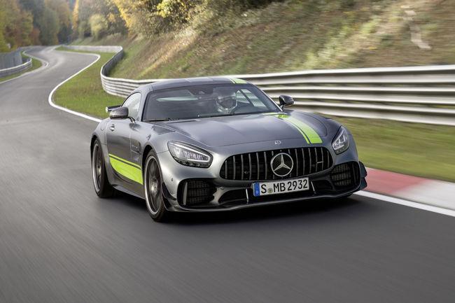 Nouvelles Mercedes-AMG GT et GT R Pro