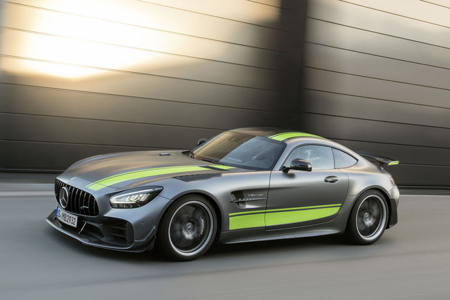 Mercedes-AMG GT : une version Black Series en approche