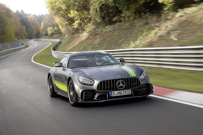Mercedes-AMG GT restylée : production lancée