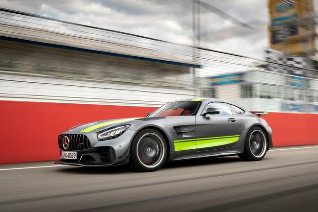 A bord de la Mercedes-AMG GT R Pro sur le Ring