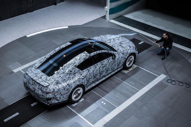 La Mercedes-AMG GT Coupé quatre portes en images