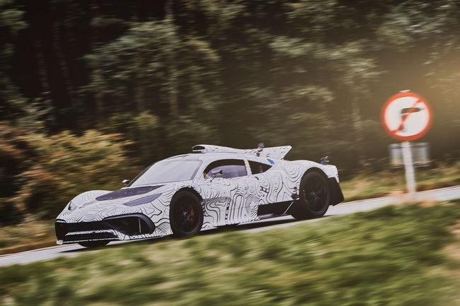 Mercedes-AMG One : arrivée repoussée à 2020