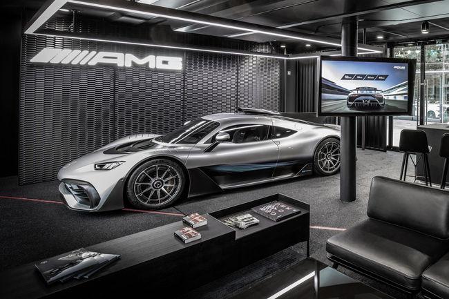 Une Mercedes-AMG One signée Lewis Hamilton ?