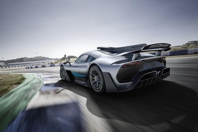 L'Hypercar Mercedes-AMG One ne roulera pas au Mans