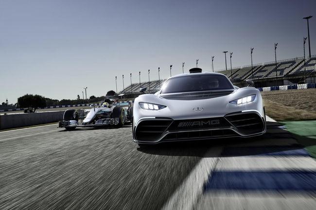 Mercedes-AMG One : arrivée prévue en 2021