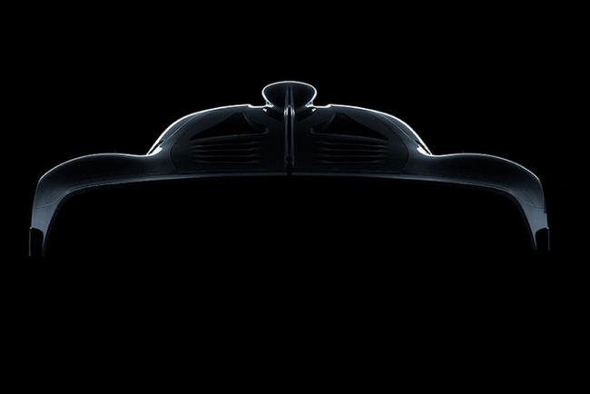 Nouveau teaser pour la Mercedes-AMG Project One