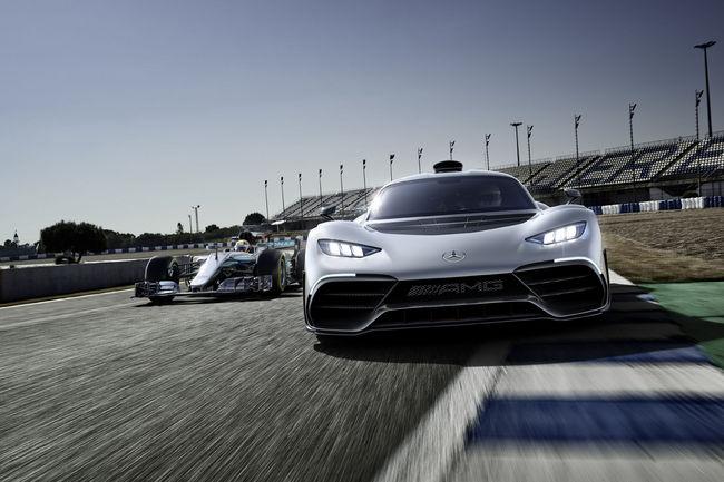 La Mercedes-AMG Project One assemblée en Grande-Bretagne ?