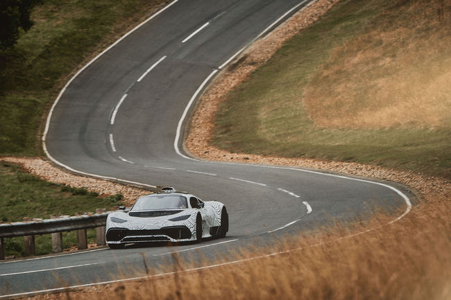 La Mercedes-AMG Project One prend la route