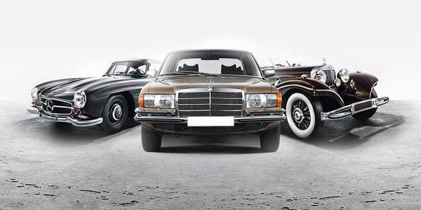 Mercedes met en vente plusieurs de ses modèles de collection