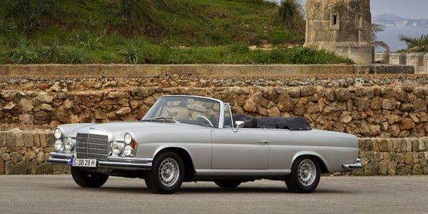 Mercedes-Benz Classic à Rétromobile