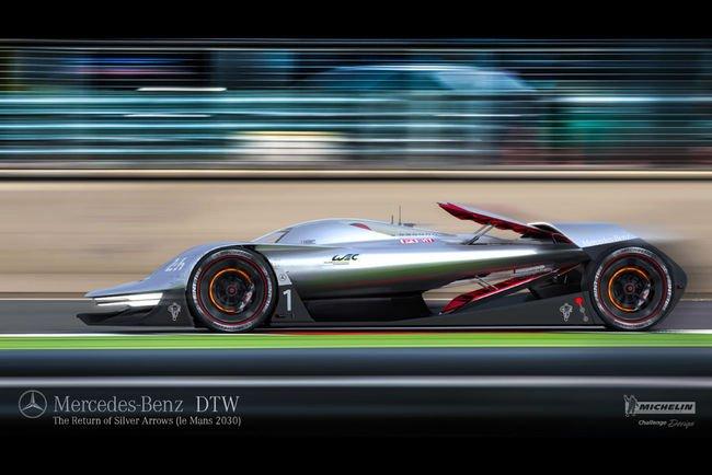 Concept Mercedes-Benz DTW : Le Mans 2030