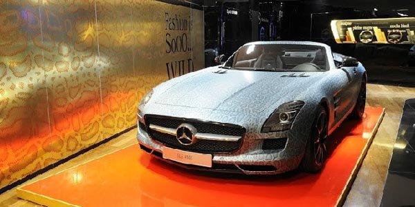 Mercedes-Benz Gallery Paris: so fashion