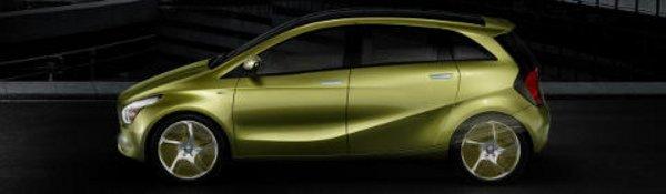 BlueZero : l'auto écolo selon Mercedes