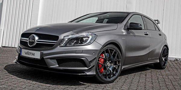 Väth pousse la Mercedes A45 AMG à 425 ch !