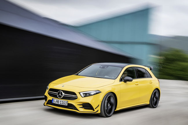 Mercedes-AMG A 35 4MATIC : avec 306 ch