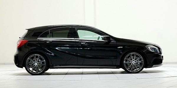 Brabus dope la Mercedes Classe A 45 AMG