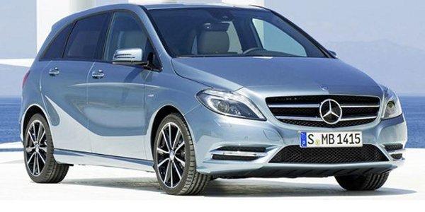 Mercedes: première image du Classe B