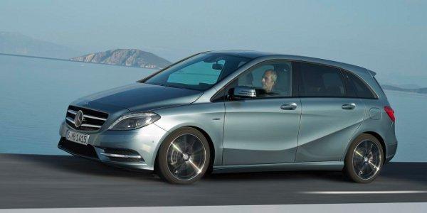 Officiel: Mercedes dévoile le Classe B 2012