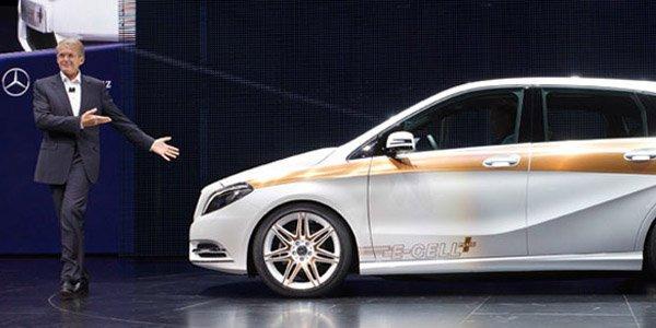 Mercedes Concept Classe B E-Cell Plus