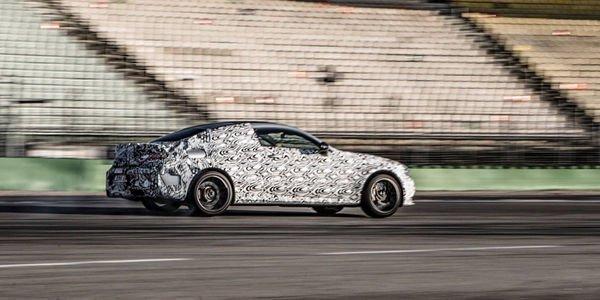 Mercedes-AMG C63 Coupé : premières images