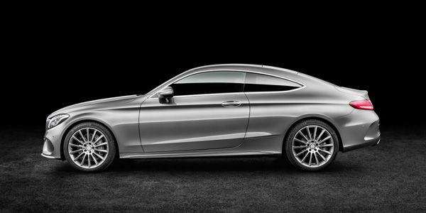 Nouvelle Mercedes Classe C Coupé (C205)