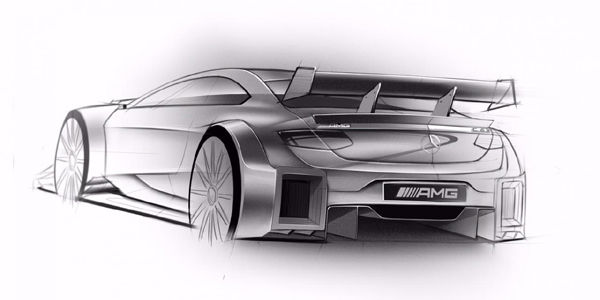 La future Mercedes Classe C DTM se dévoile