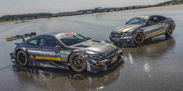 Mercedes-AMG dévoile sa C63 DTM 2016