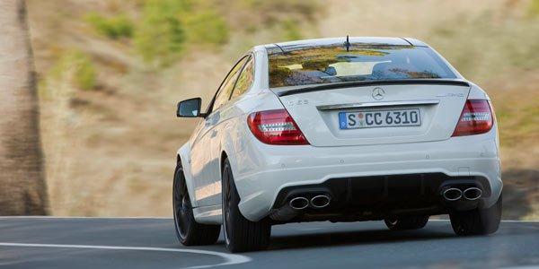 Mercedes C63 AMG Coupé : le tarif