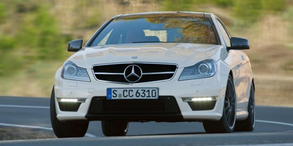 La Mercedes C63 AMG Black Series arrive