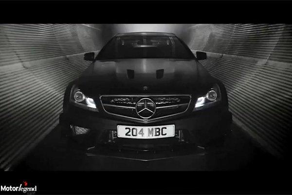 Mercedes C63 Amg Black Serie Dark Side Actualite Automobile Motorlegend