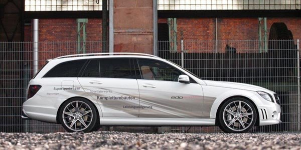 Mercedes C63 AMG par Edo Competition