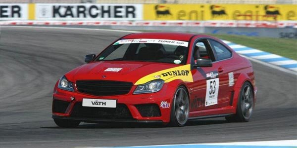 Väth s'occupe du C63 AMG Black Series