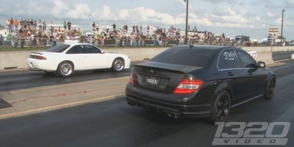 Vidéo : une grand-mère qui assure en Mercedes C 63 AMG !