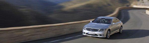 Mercedes CL 63 AMG : sur le toit du monde