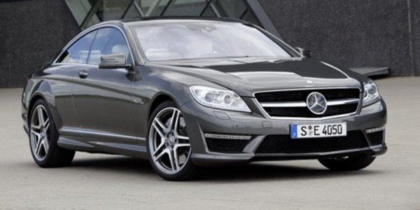 Mercedes retouche les CL AMG