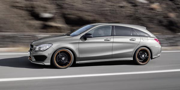 Nouvelle Mercedes CLA Shooting Brake