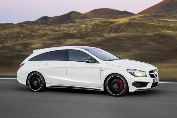 Nouvelle Mercedes Cla Shooting Brake Actualit 233
