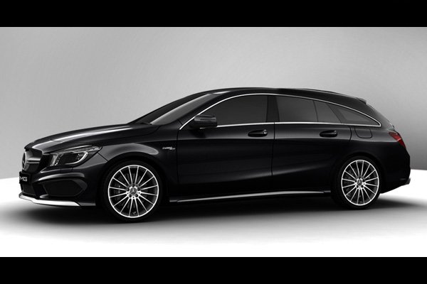 fantasme mercedes cla 45 amg shooting actualit automobile motorlegend. Black Bedroom Furniture Sets. Home Design Ideas