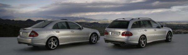 Un shooting brake Mercedes CLK à Paris