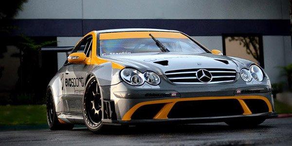 Une CLK63 Black Series dans la course !