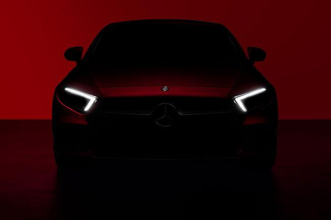 Un teaser vidéo pour la nouvelle Mercedes CLS