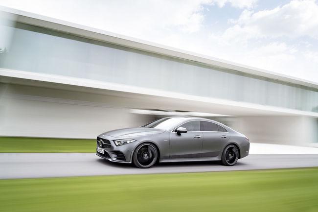 Los Angeles : Mercedes dévoile sa nouvelle CLS