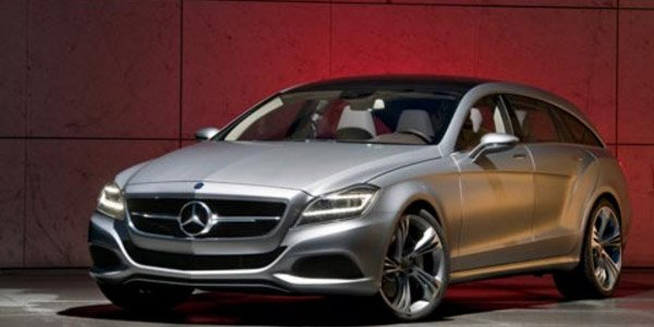 La Mercedes CLS Shooting Break à Goodwood