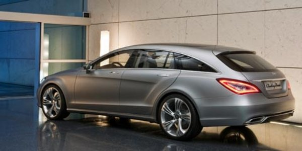 La Mercedes CLS Shooting Break en croquis