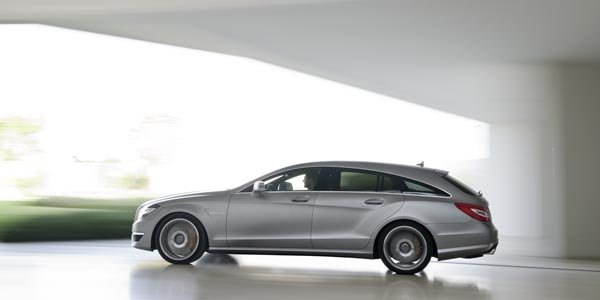 Officiel : Mercedes CLS 63 AMG Break