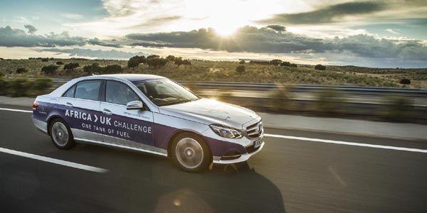 Une Mercedes E300 Hybride boucle 2000 km avec un plein