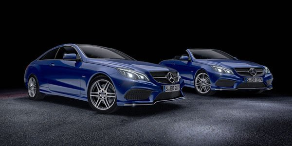 Mercedes-Benz Classe E Sport Edition et V8 Edition