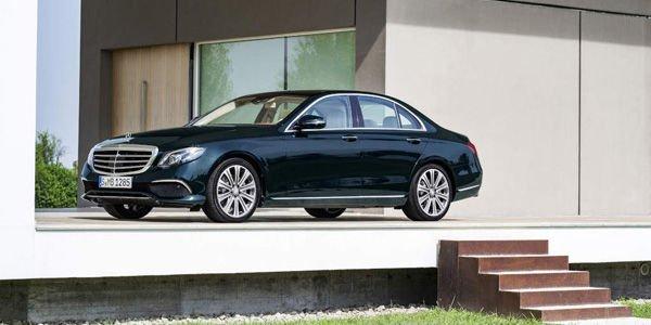 Tarifs de la nouvelle Mercedes Classe E (W213)